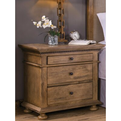 Marcello 3 Drawer Nightstand