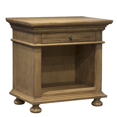 Marcello Open 1 Drawer Nightstand
