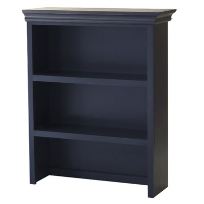 Addison Bookcase Hutch Finish: Blue