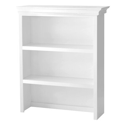 Addison Bookcase Hutch Finish: White