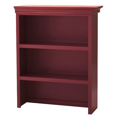 Addison Bookcase Hutch Finish: Red