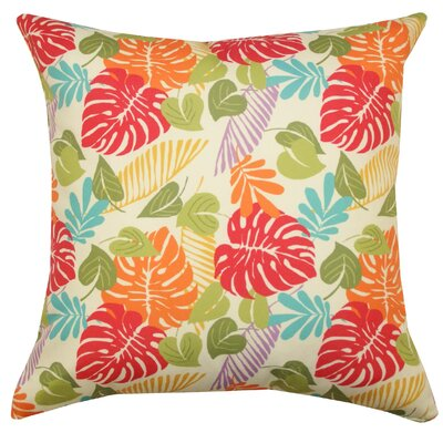 Tropical Outdoor Throw Pillow