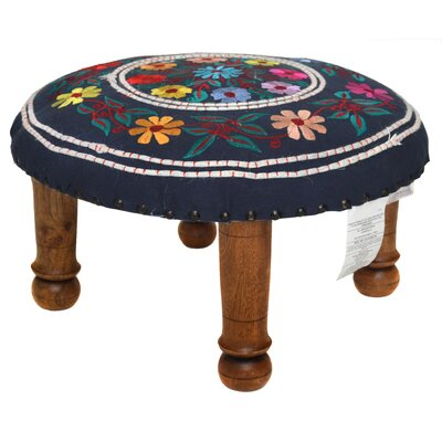 Embroidered Ottoman