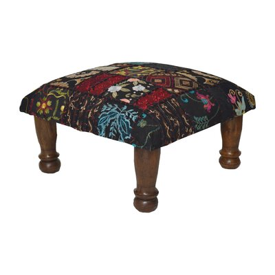 Patchwork and Embroidered Ottoman