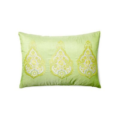 Brea Henna Lumbar Pillow Color: Lime
