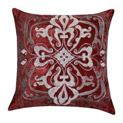 Burgundy Color Decorative Pillows : Meadow Polyester Throw Pillow Color Burgundy