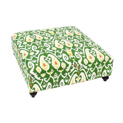 Eloise Ottoman Upholstery: Green