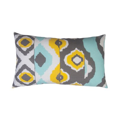 Ikat Toss Indoor/Outdoor Lumbar Pillow