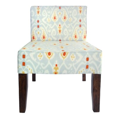 All Over Ikat Slipper Chair