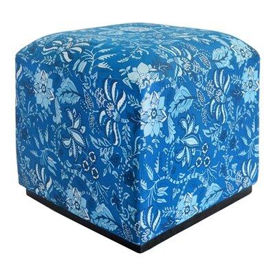 Palampore Cube Ottoman
