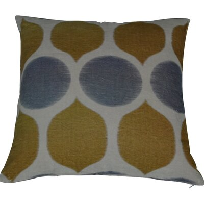 Fez Throw Pillow Color: Yellow/Gray