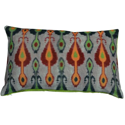 Casablanca Lumbar Pillow Color: Green/Yellow/Orange