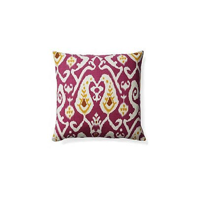 Ikat Indoor/Outdoor Throw Pillow
