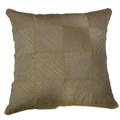Lurex Toss Indoor Throw Pillow Color: Russet