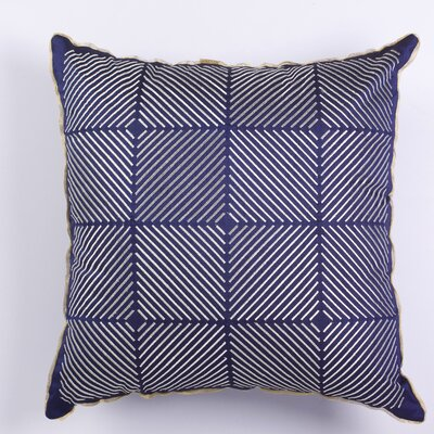 Lurex Toss Indoor Throw Pillow Color: Dark purple