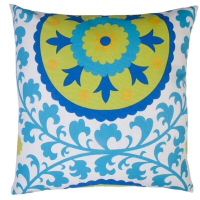 Suzani Indoor/Outdoor Throw Pillow