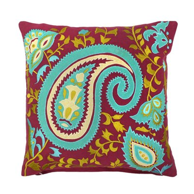 Arcadia Paisley Pillow