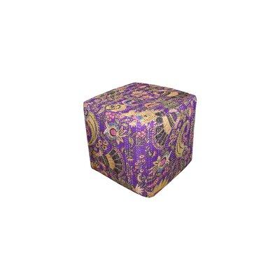 Kantha Cube Ottoman