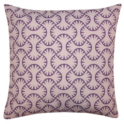 Maze Indoor/Outdoor Throw Pillow Color: Lilac
