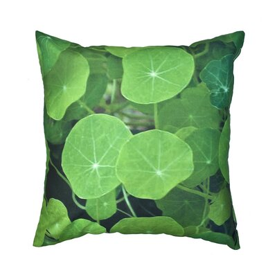 Lily Pads Outdoor Throw Pillow