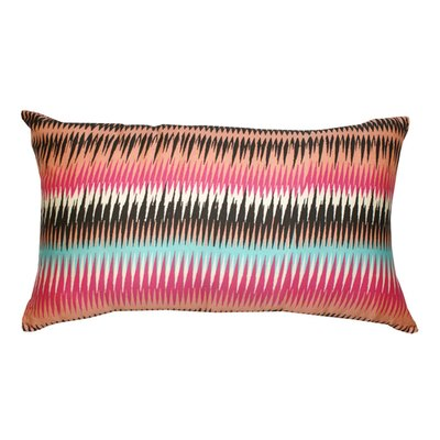Ares Decorative Cotton Lumbar Pillow Color: Pink