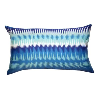 Ares Decorative Cotton Lumbar Pillow Color: Blue