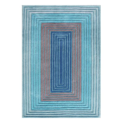 Alliyah Handmade Deep Ocean Blue Area Rug