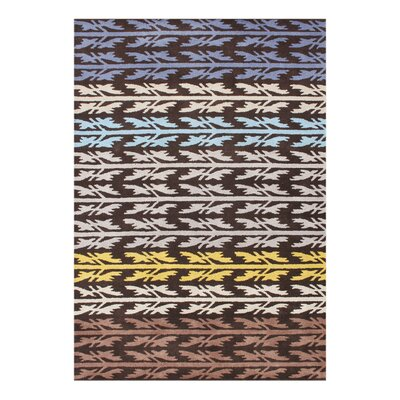 Alliyah Handmade Black Olive Area Rug