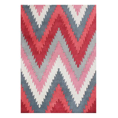 Alliyah Handmade Red Area Rug