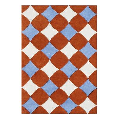 Alliyah Handmade Orange Rust Area Rug