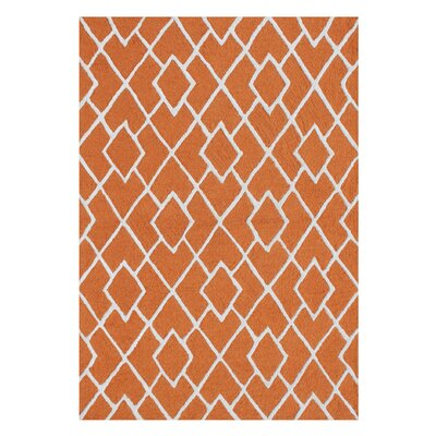 Alliyah Handmade Rust Area Rug