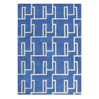 Alliyah Handmade Blue Area Rug
