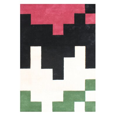 Alliyah Handmade Watermelon Area Rug