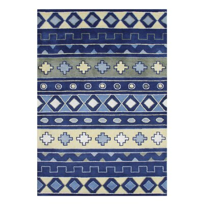 Alliyah Handmade Sky Blue Area Rug