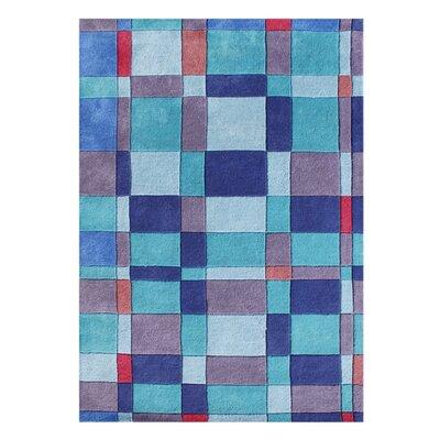 Alliyah Handmade Blue/Green Area Rug