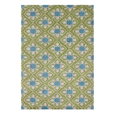 Alliyah Handmade Grass Green Area Rug