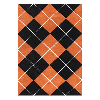 Alliyah Handmade Red/Orange Area Rug