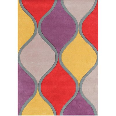 Alliyah Handmade Purple Area Rug