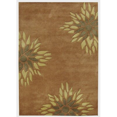 Alliyah Handmade Brown Area Rug