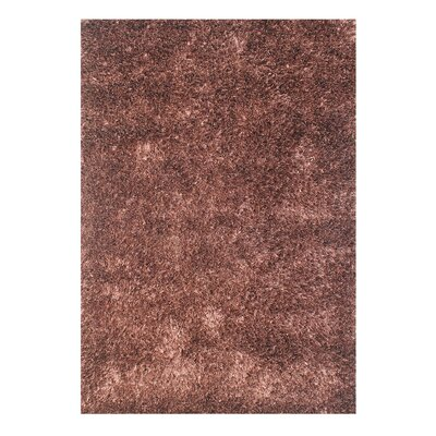 Alliyah Handmade Brown Area Rug Rug Size: Rectangle 5 x 8