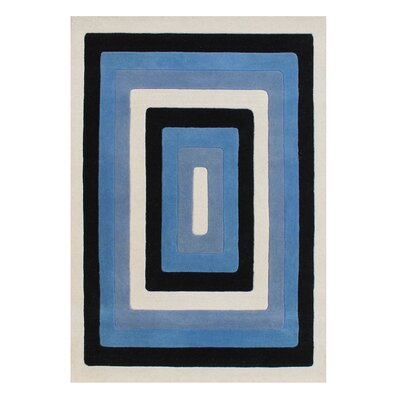 Alliyah Handmade Blue Area Rug Rug Size: Rectangle 5 x 8
