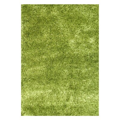 Alliyah Handmade Green Area Rug Rug Size: Rectangle 4 x 6
