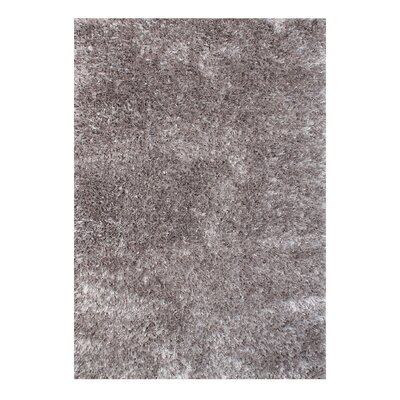 Alliyah Handmade Gray Area Rug Rug Size: Rectangle 5 x 8