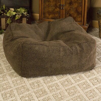 Cuddle Cube Dog Pillow Size: Small (18 L x 18 W), Color: Mocha