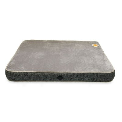 Superior Orthopedic Dog Pillow Size: Large (50 L x 40 W), Color: Gray