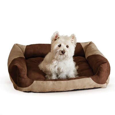 Classy Cat Lounger Color: Tan Chocolate, Size: Medium - 20 L x 25 W