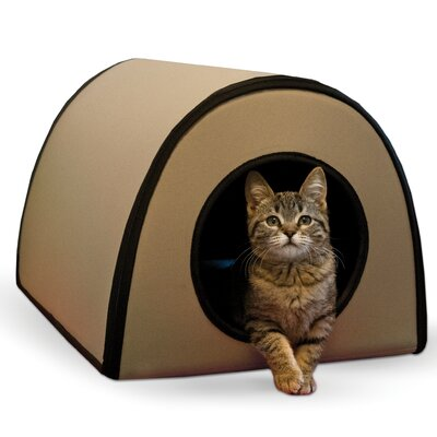 Cat Mod Thermo-Kitty Shelter Color: Tan