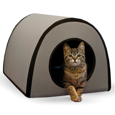 Cat Mod Thermo-Kitty Shelter Color: Gray