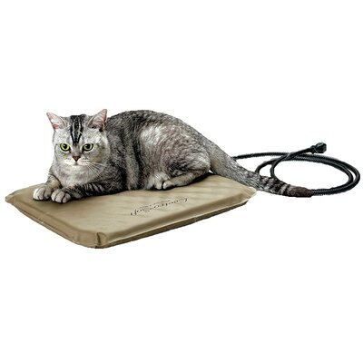 Lectro-Soft� Heated Dog Pad with Cover Size: Small (18 L x 14 W)