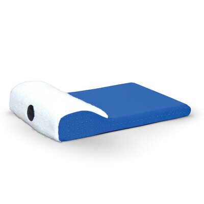 Ultra Memory Chaise Lounger Color: Blue